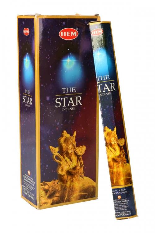 The Stars wierook, HEM, wierook stokken, stokjes, HEM, hexagonaal, incense, kopen