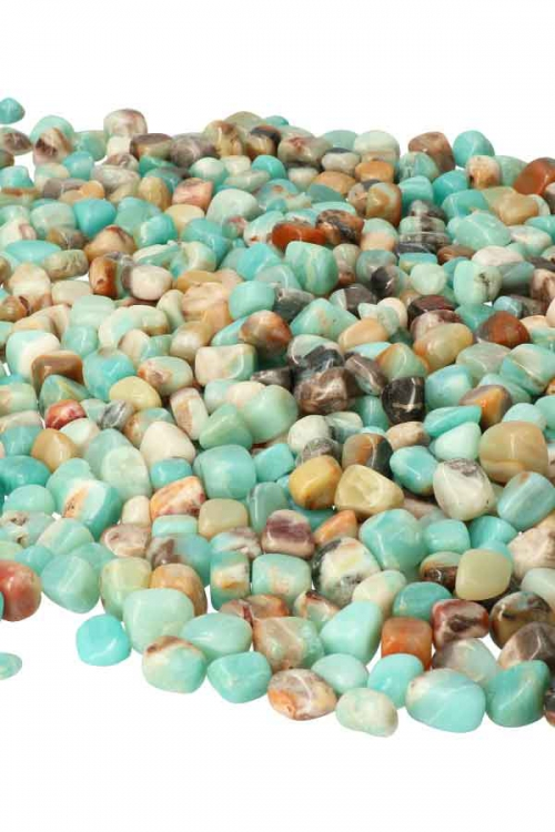 Amazoniet steen, China, Prachtige kwaliteit, amazonite, stone, stones, trommelsteen, getrommeld, knuffelsteen, stenen, amazoniet stenen, kopen