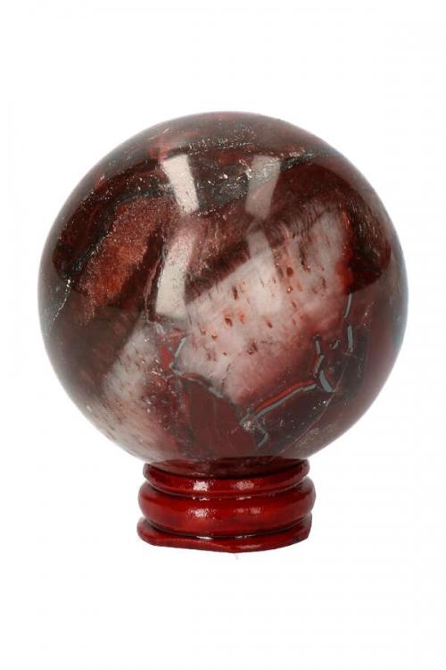edelsteen bol, rode tijgeroog bol, bollen, sphere, red tiger eye, ox, stierenoog, kopen, kristal