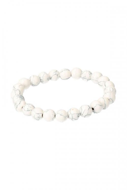 howliet armband, howliet edelsteen armband, powerbead, kopen, edelsteen sieraad, sieraden, howlite bracelet, kopen