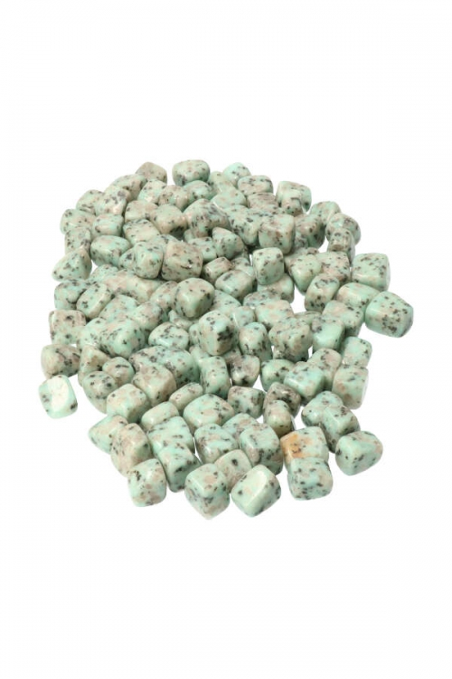 kopen, Kiwi Jaspis getrommeld trommelsteen chakra legger, kiwi jaspis steen