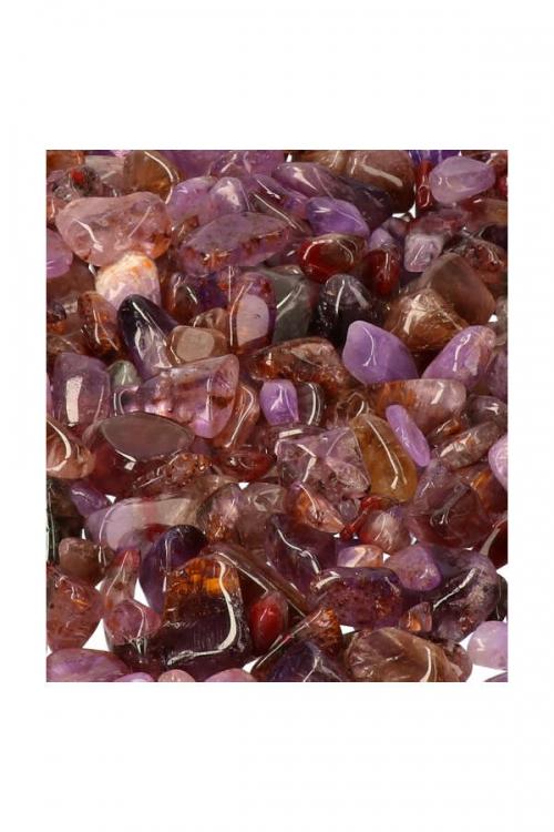 Super Seven trommelstenen, getrommeld super 7, super seven steen. stenen, kopen, knuffelsteen