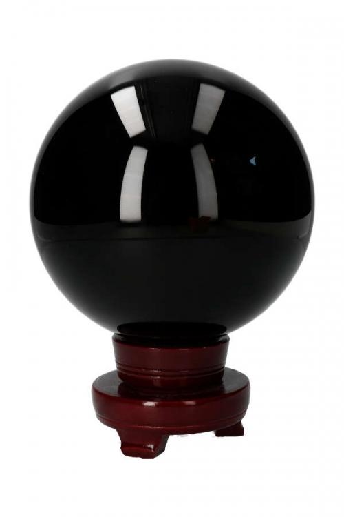 obsidiaan bol, bollen, edelsteen bol, sphere, obsidian, kopen,