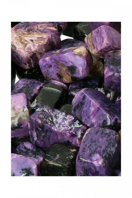 charoiet kopen, charoiet steen, charoiet stenen, charoite, trommelsteen, trommelstenen, knuffelsteen, gepolijst, kopen, mineralen, edelsteen, edelstenen