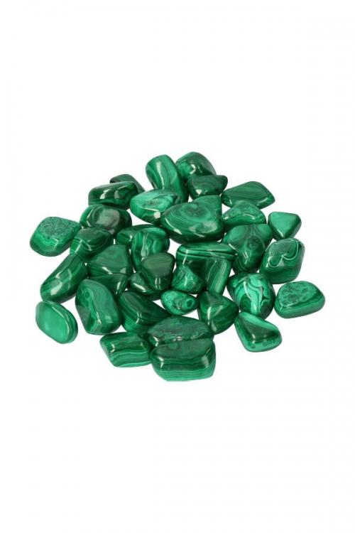 Malachiet steen, congo, copperbelt, malachite, trommelsteen, trommelstenen, knuffelsteen, knuffelstenen, getrommeld, malachiet gepolijst, stenen