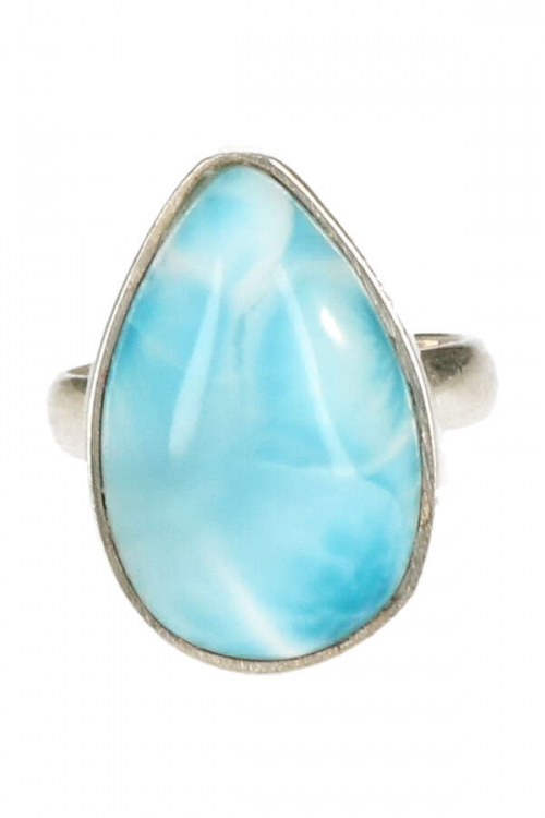 larimar ring, 17 mm, dominicaanse republiek, kopen