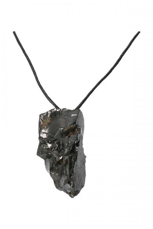 Edel Shungiet ruwe hanger, elite shungite pendant, kopen, ketting