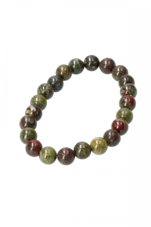 Drakenbloedsteen armband, 8 mm, 19 cm, dragonbloodstone bracelet, kopen, drakensteen