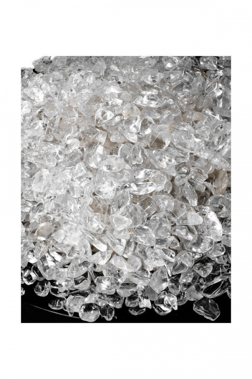 Bergkristal chips top kwaliteit, kleine bergkristal steentjes, mini bergkristal, split, chips, kopen, kleine bergkristal