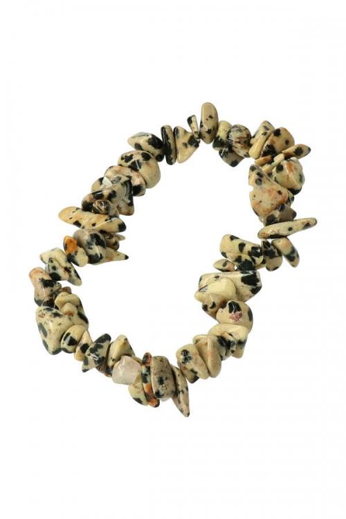 dalmatier jaspis splitarmband, edelsteen armband, dalmation jasper bracelet, kopen
